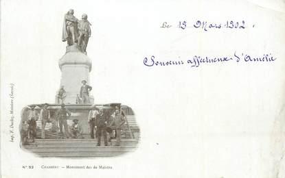 """CPA FRANCE 73 """"Chambéry, Monument des de Maistre""""."""