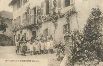 """CPA FRANCE 73 """" Fréterive, Le préventorium""""."""