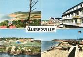 """76 Seine Maritime CPSM FRANCE 76 """"Quiberville sur Mer, Vues""""."""