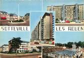 """76 Seine Maritime CPSM FRANCE 76 """" Sotteville les Rouen, Vues""""."""