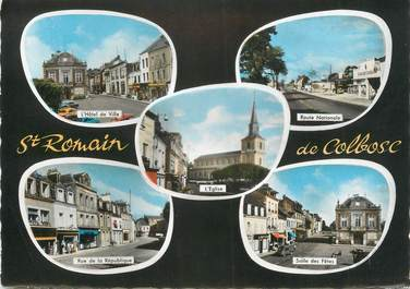 """CPSM FRANCE 76 """"St Romain de Colbosc""""."""