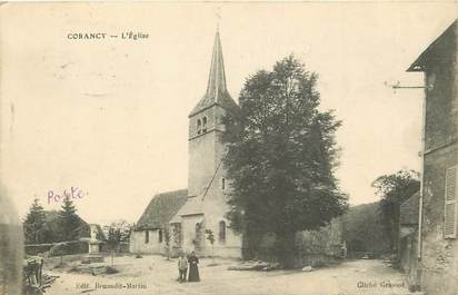 "CPA FRANCE 58 ""Corancy, l'Eglise"""