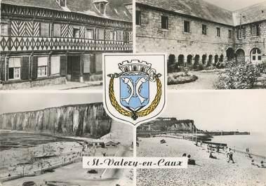 """CPSM FRANCE 76 """"St Valéry en Caux, Vues""""."""