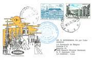 """1 Er Vol LETTRE 1 ER VOL / BELGIQUE """"Bruxelles / La Havane, 18 mai 1976"""""""