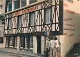 """76 Seine Maritime CPSM FRANCE 76 """" Yport, Bar hôtel restaurant traiteur La Sirène""""."""