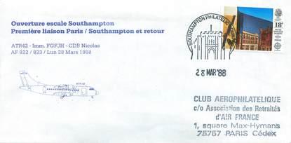 Lettre 1 er vol grande bretagne paris southampton 28 - Office tourisme grande bretagne paris ...