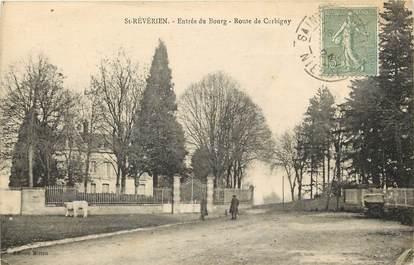 """CPA FRANCE 58 """"Saint Révérien, Rte de Corbigny"""""""