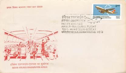 """LETTRE 1 ER VOL / INDES """"New Delhi / Bombay, 1er décembre 1976"""""""