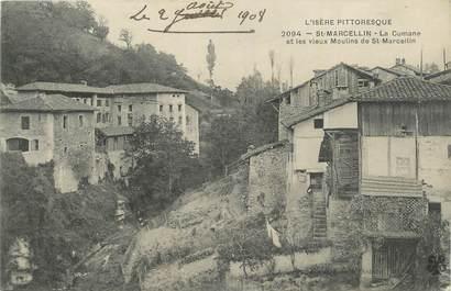 """CPA FRANCE 38 """"St Marcellin, La Cumane et les vieux moulins""""."""