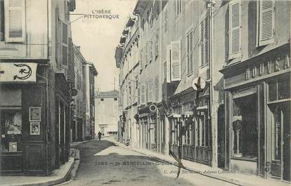 "CPA FRANCE 38 "" St Marcellin, Grande rue""."