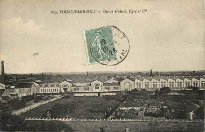"""CPA FRANCE 58 """"Fourchambault, Usines Guillet"""""""