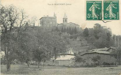 """CPA FRANCE 38 """"Beaufort""""."""