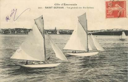 """CPA FRANCE 35 """" St Servan, Vue générale des Bas Sablons""""."""