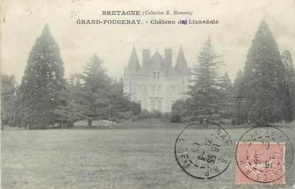 "CPA FRANCE 44 "" Grand Fougeray, Château de Lizardais""."