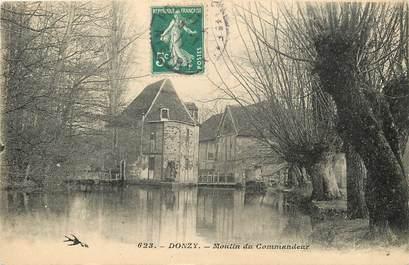 """CPA FRANCE 58 """"Donzy, Moulin du Commandeur"""""""