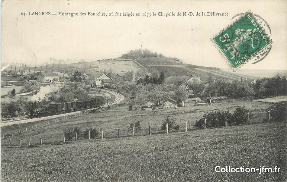 Cpa france 52 langres montagne des fourches 52 for 52 haute marne