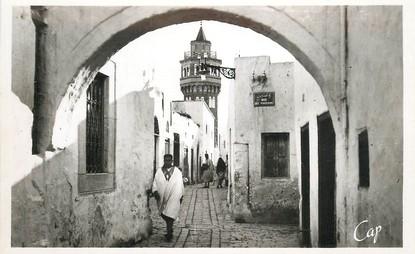 """CPA TUNISIE """"Bizerte, Place des Armuriers"""""""