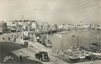 "CPSM FRANCE 85 "" Les Sables d'Olonne, Le Port""."