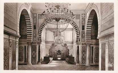 "CPSM TUNISIE ""Tunis,  Le Bardo, la salle du Trône"""