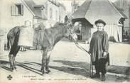 """63 Puy De DÔme CPA FRANCE 63 """"Mont Dore, Un jeune laitier et sa monture""""'. / FOLKLORE"""