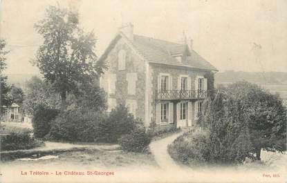 """CPA FRANCE 77 """" La Trétoire, Le château St Georges""""."""