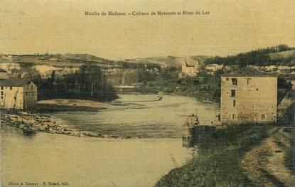 """CPA FRANCE 47 """"Moulin de Madame, Château de Massanès et Rives du Lot""""."""
