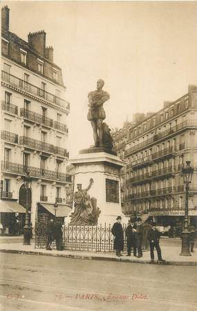 """CPA FRANCE 75 """" Paris 5ème, Monument Dolet""""./ LIBRE PENSEUR"""