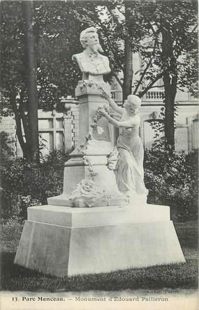 """CPA FRANCE 75 """" Paris 8ème, Le monument Edouard Pailleron"""". / POETE"""