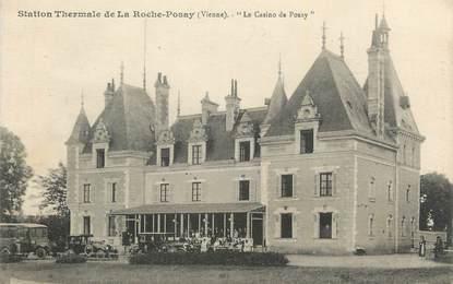 """CPA FRANCE 86 """" La Roche Posay, Le casino de Posay""""."""