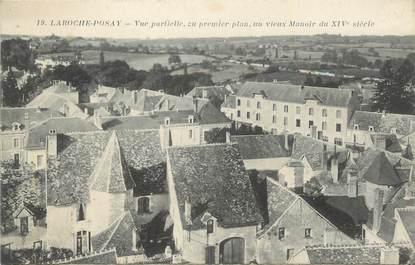 "CPA FRANCE 86 "" La Roche Posay, Vue partielle ""."