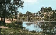 """86 Vienne CPSM FRANCE 86 """" La Roche Posay, Les bords de la creuse""""."""