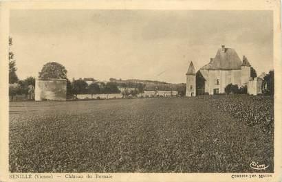"""CPA FRANCE 86 """"Senillé, Château du Bornaie""""."""