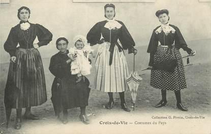 """CPA FRANCE 85 """"St Gilles Croix de Vie"""". / FOLKLORE"""