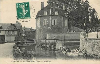 """CPA FRANCE 58 """"Nevers, La Tour Saint Trohé"""""""