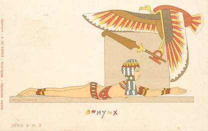 """CPA EGYPTE """"Sphynx"""""""