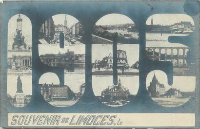 """CPA FRANCE 87 """" Limoges, Vues""""."""