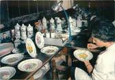 """87 Haute Vienne CPSM FRANCE 87 """" Limoges, La porcelaine, Reproduction d'une assiette Vieux Limoges 1856''."""