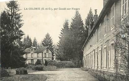 "CPA FRANCE 95 ""La Colonie""."