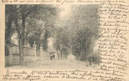 """CPA FRANCE 70 """" Scey sur Saône, Avenue du Patis""""."""