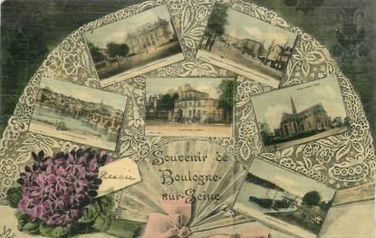 """CPA FRANCE 92 """" Boulogne sur Seine, Vues""""."""