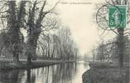 """28 Eure Et Loir CPA FRANCE 28 """" Jouy, Le pont de Courtille""""."""