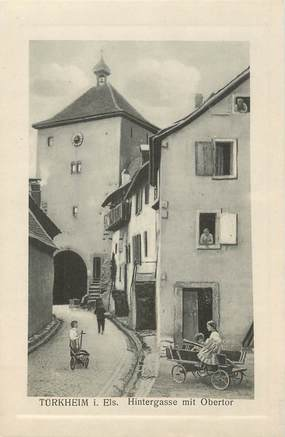 """CPA FRANCE 68 """"Turkheim""""."""