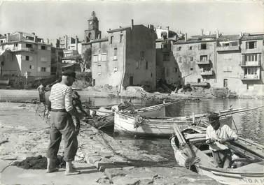 """CPSM FRANCE 83 """" St Tropez, Le port des pêcheurs""""."""