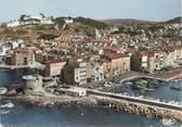 """83 Var CPSM FRANCE 83 """"St Tropez, La citadelle dominant la ville""""."""