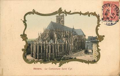 "CPA FRANCE 58 ""Nevers, La Cathédrale Saint Cyr"""