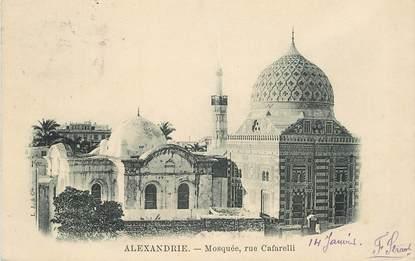 "CPA EGYPTE ""Alexandrie, la Mosquée, rue Cafarelli"""
