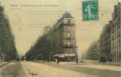 """CPA FRANCE 75 """" Paris 17ème, Avenue de Villiers , rue de Prony"""" ."""