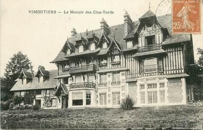 """CPA FRANCE 61 """"Vimoutiers, Le manoir des Clos Tords""""."""