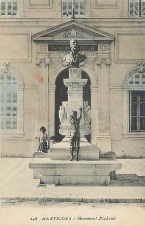 "CPA FRANCE 13 "" Martigues, Monument Richaud""."