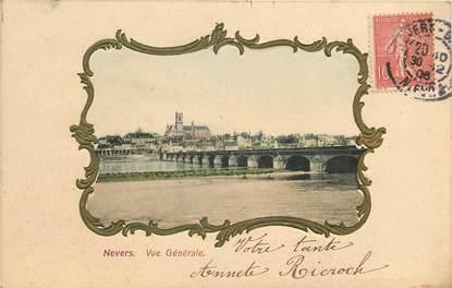 """CPA FRANCE 58 """"Nevers, vue générale"""""""